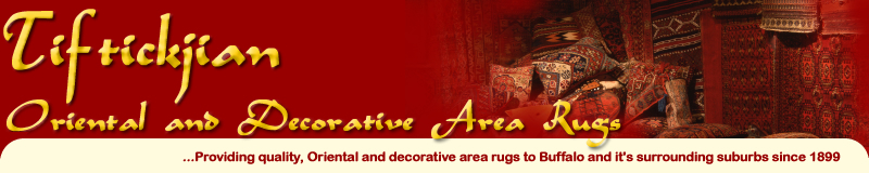 Tiftickjian Oriental and Decorative Area Rugs - Providing Oriental and Decorative area rugs to Buffalo and it's surrounding suburbs since 1899